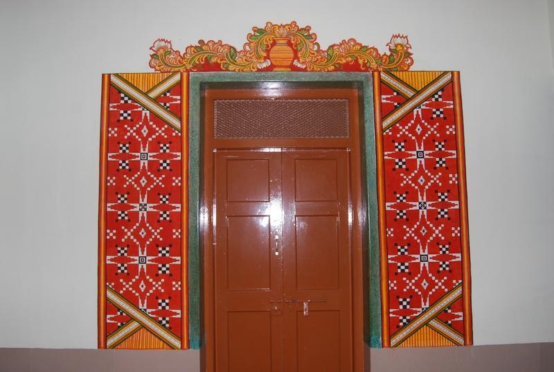 Title for Asha mural painting guruvayur