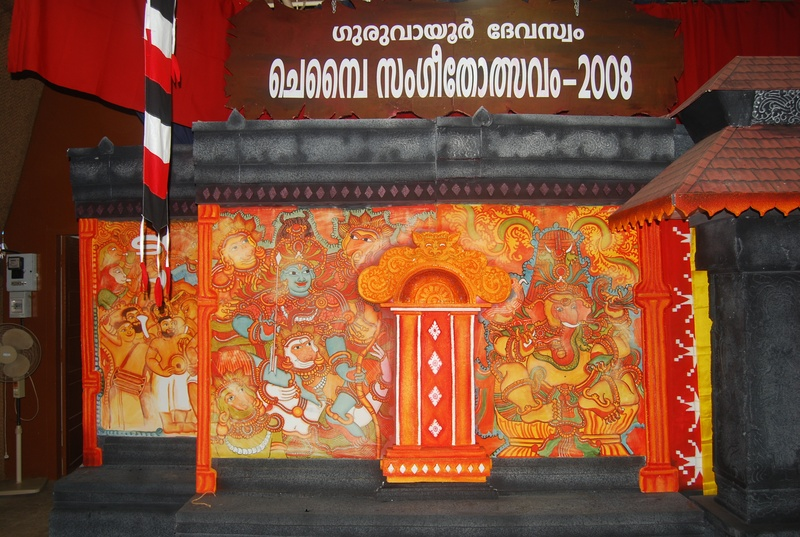 Ganapathi for Ananthasayanam mural painting