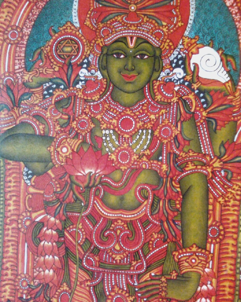 Mural paintings for Ananthasayanam mural painting